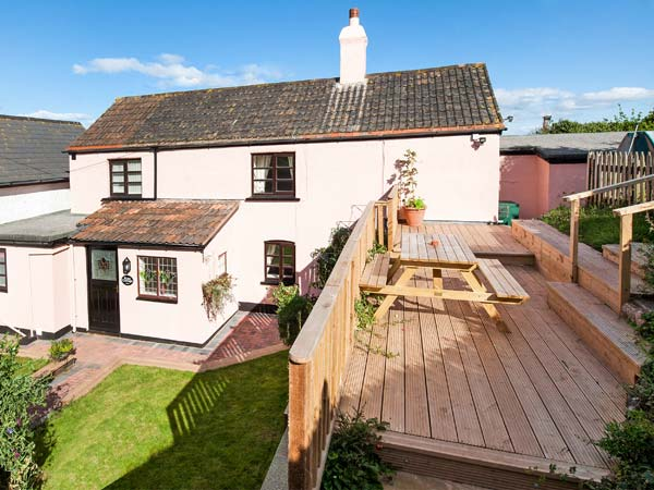 Rose Cottage Pet-Friendly Cottage, Blue Anchor, South West England (Ref 903995),Minehead