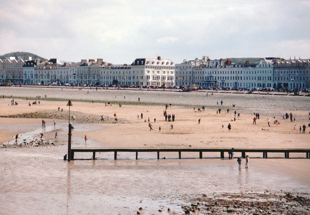 Llandudno Beach. Via Flickr
