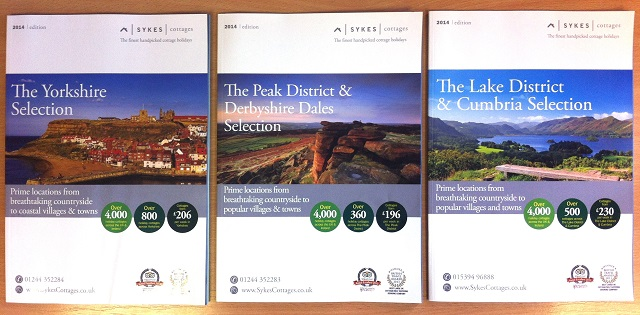 The latest Sykes Cottages brochures, which are available by region.