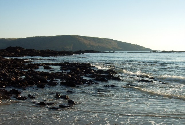 Wembury Beach in Devon