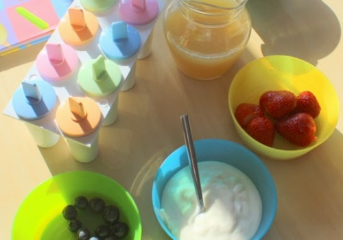 Making Healthy Ice Lollies