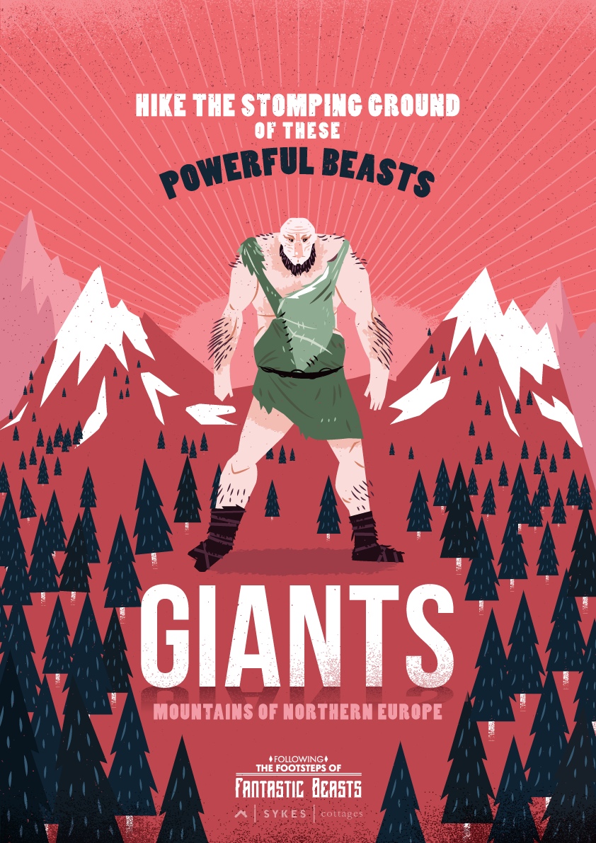 giants poster fantastic beasts