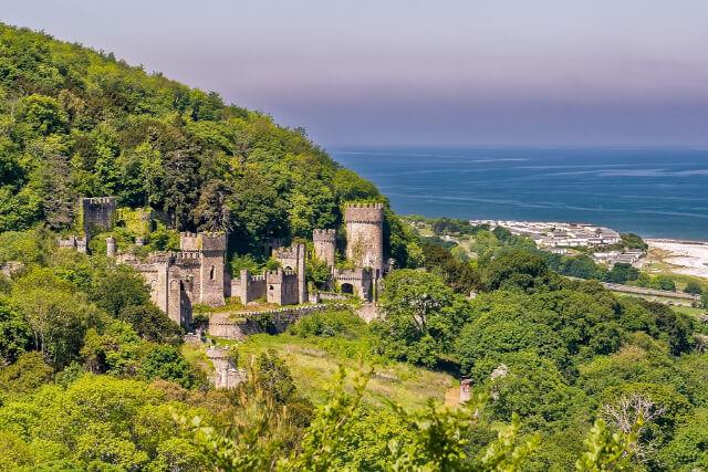 Gwrych Castle, North Wales