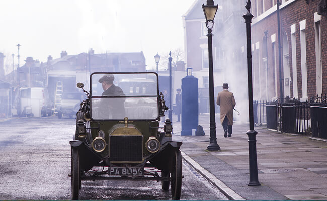 Peaky Blinders filmed in Yorkshire