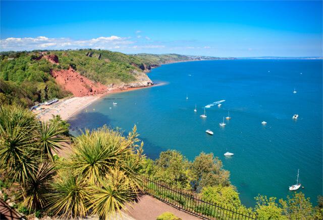 Babbacombe Beach Devon s