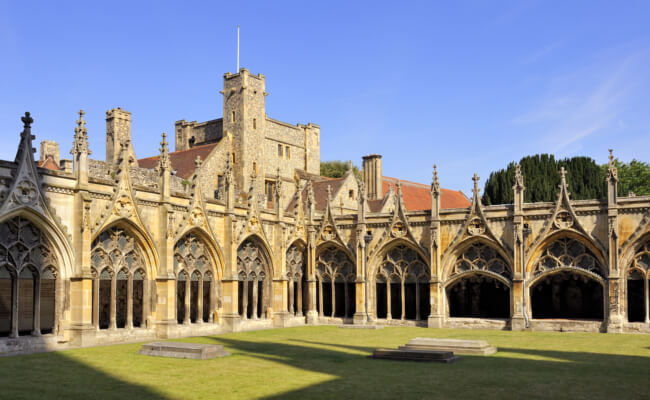 Canterbury Cathedral - Medieval Historic family days out kent