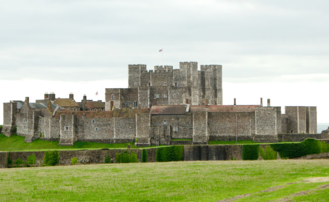 Dover Castle - Medieval Historic family days out kent