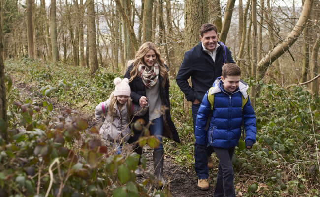 What is Geocaching - free family activity - treasure hunting in Devon