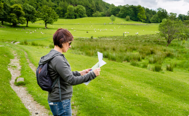 what do you need for geocaching - treasure hunting in Devon