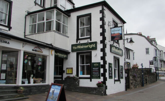 The Wainwright - best pubs in keswick - lake district cumbria