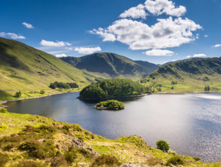Haweswater is a reservoir built in the valley of Mardale and flooded in 1935