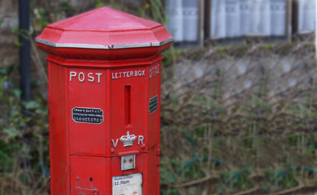What is Devon Famous For - oldest post box in england - Holywell
