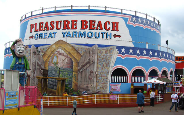 Family days out in Great Yarmouth - Norfolk - Pleasure Beach