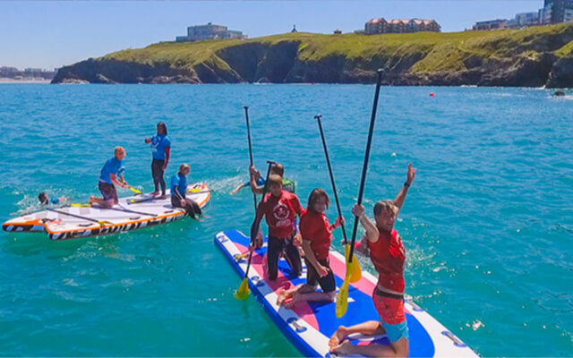 Autumn and winter activities in Cornwall - Super SUP
