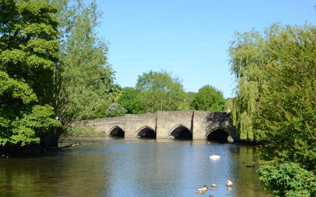 Bakewell and the River Wye - Best Pub Walks in the Peak District