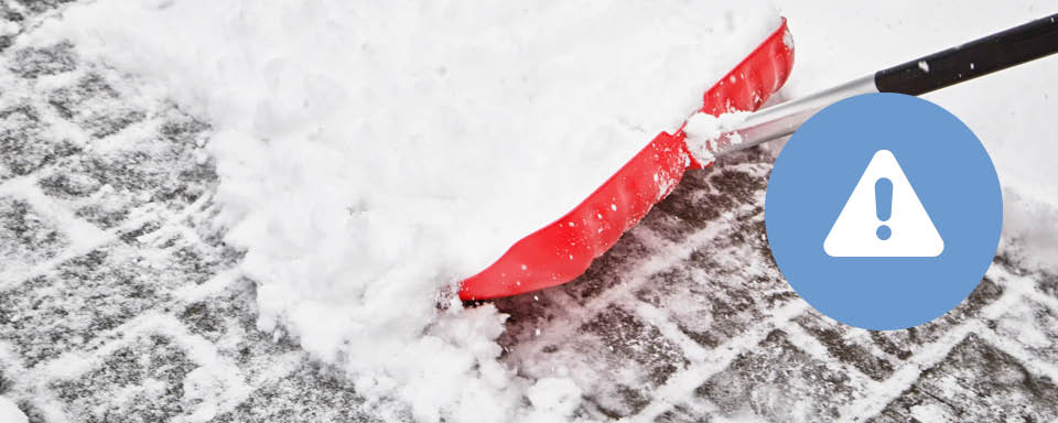 Prevent Hazards - holiday let winter tips