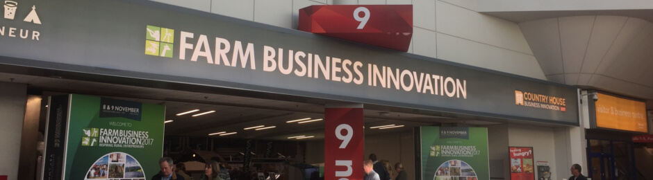 Farm Business Innovation Show - Sykes Holiday Cottages shows 2018