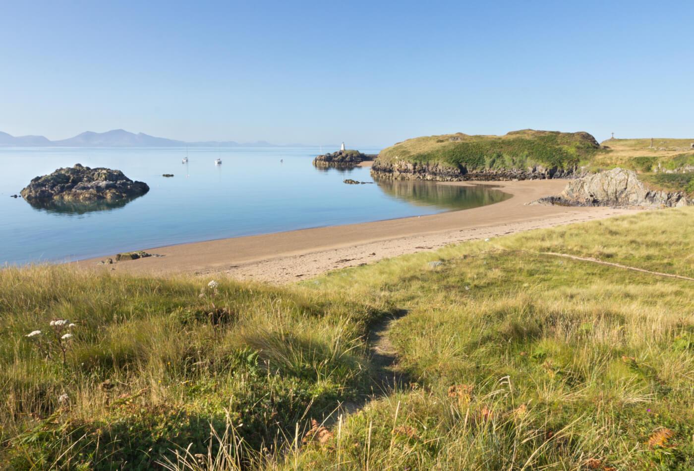 Llanddwyn Island in Anglesey