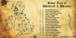 Sykes' Trail of Witchcraft and Wizardry - Harry Potter Trail in Celebration of World Book Day