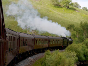The Jacobite Steam Train Hogwarts Express