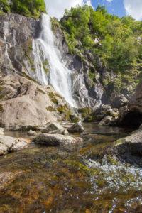 Aber Falls North Wales