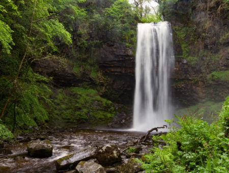 Henrhyd Waterfall Brecon Beacons