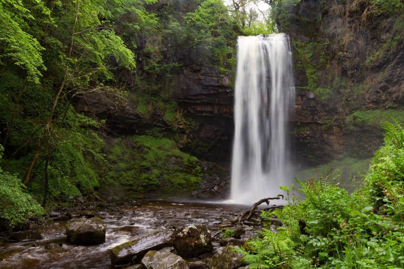 Henrhyd Waterfall Brecon Beacons