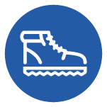 Walking boot icon