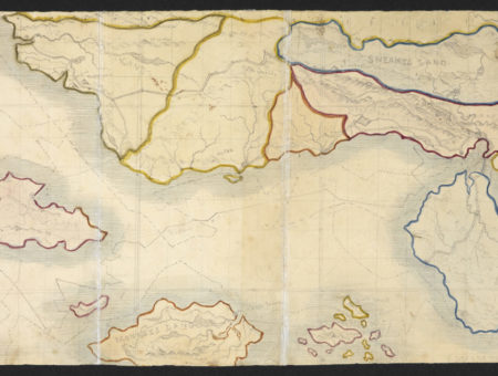 Branwell Brontë, Map of Angria (c._1830–1831)