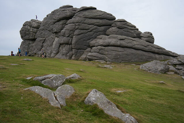 Haytor rocks, Dartmoor national park