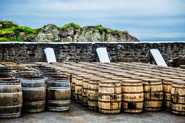 Scottish Whisky Barrels