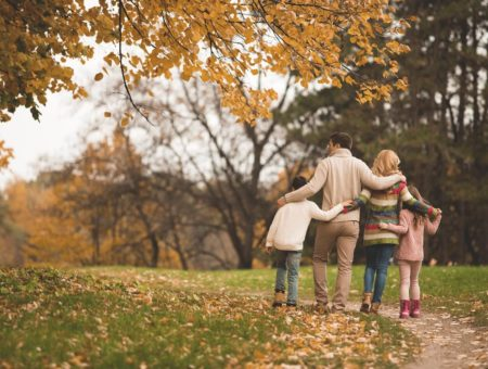 Family Autumn Walk