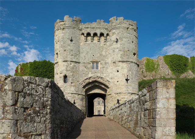 Carisbrooke Castle - Isle of Wight