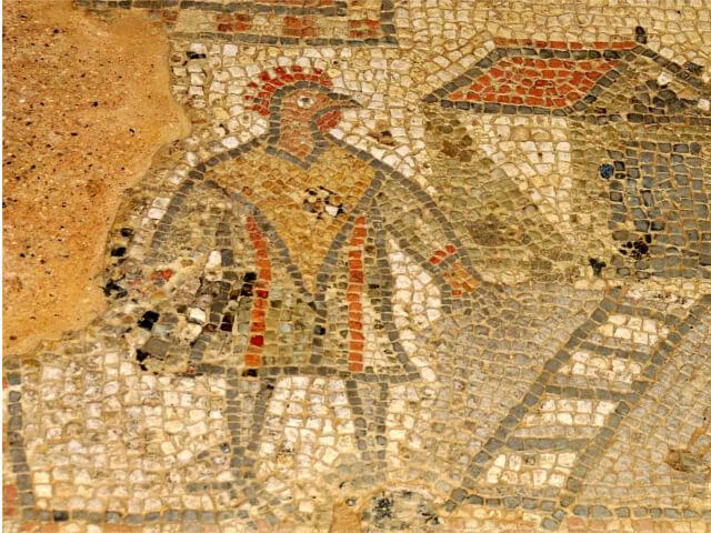 Cockerel Headed Man - Brading Roman Villa