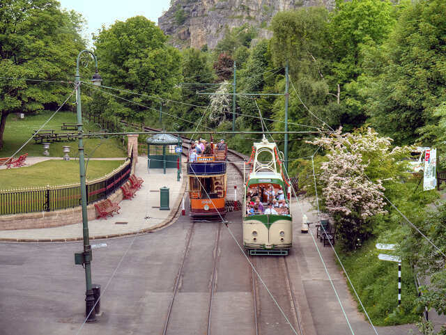 Trams in Crich