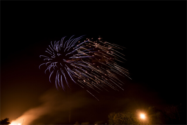 Fireworks at Chatsworth House