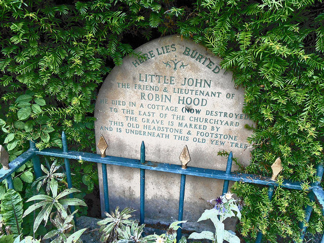 Grave of Little John