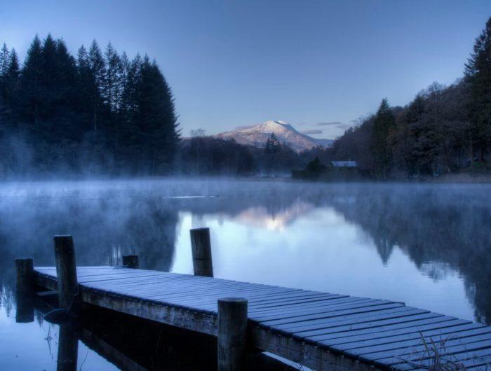 Foggy Loch Ard