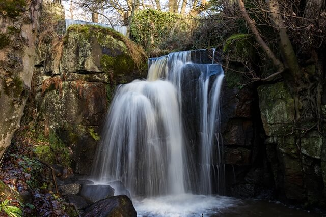 Waterfall at Lumsdale