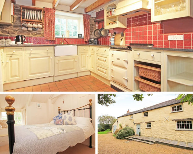 Meadowside Cottage Collage