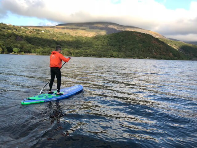 Llyn Padarn Paddleboarding