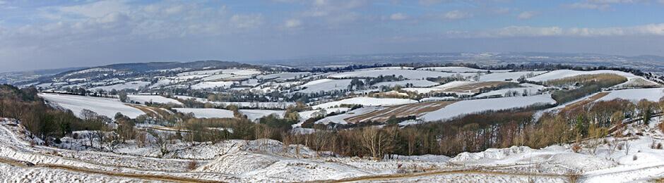 Cotswolds Snow