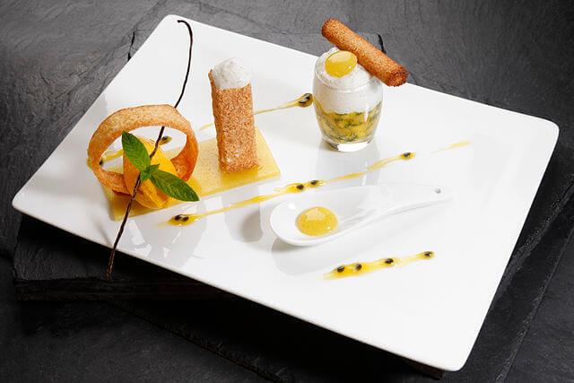 Michelin-starred Dish