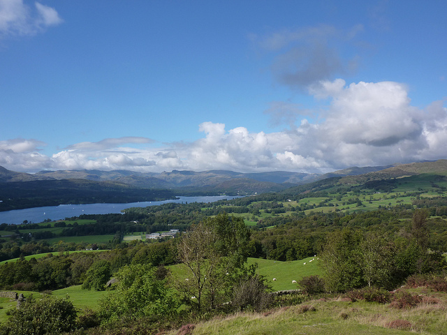 Windermere seen from Orrest Head