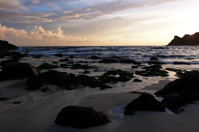 Nanjizal Beach Sunset