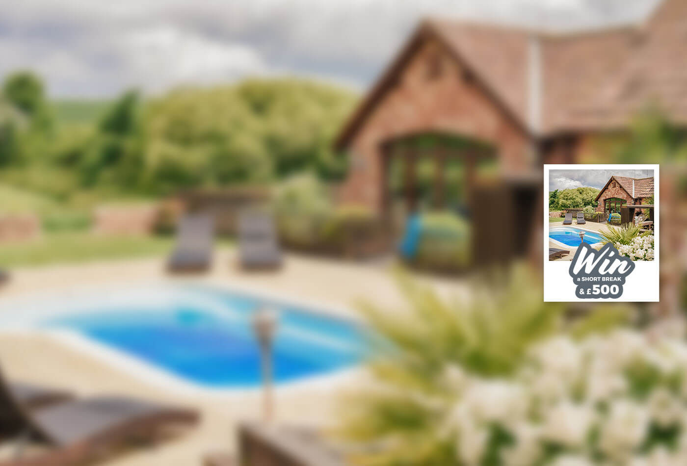 March 2019 Prize Draw: Win a Short Break plus £500 - Sykes Holiday