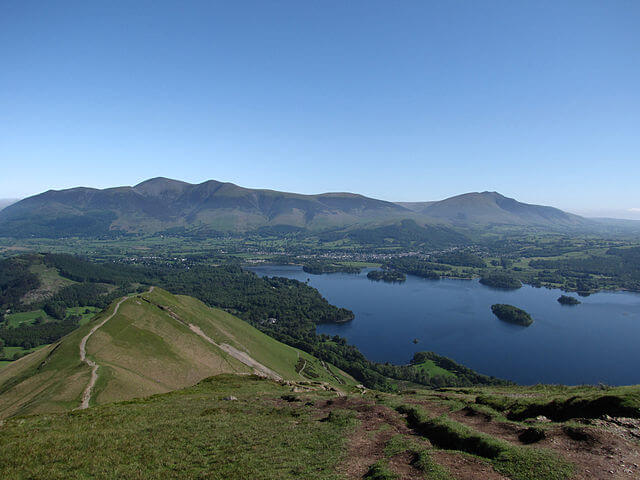 View north from Cat Bells