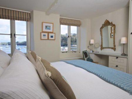Berry Cottage Dittisham River Dart Interior Decor Bedroom