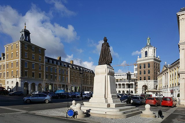 Queen Mother Square Poundbury