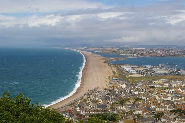 Chesil Beach, Weymouth, Dorset